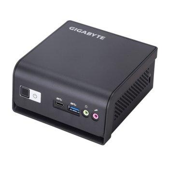Настолен компютър Gigabyte Brix BLDP-5005R (GB-BLDP-5005R), четириядрен Gemini Lake Intel Pentium Silver J5005 Processor 1.50/2.80 GHz, USB 3.1 (Gen1, Type-C), Free DOS image