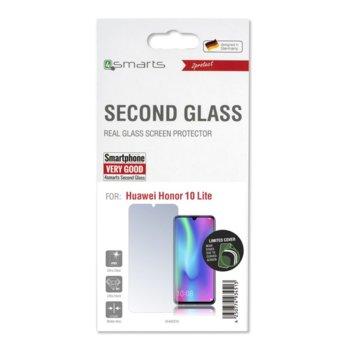 Протектор от закалено стъкло /Tempered Glass/, 4Smarts 4S493316, за Huawei Honor 10 Lite image