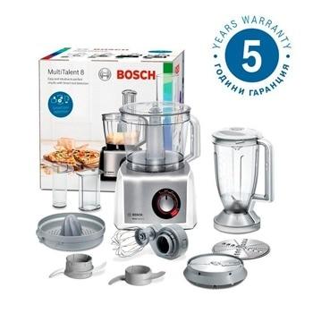 Кухненски робот Bosch MC812S820, 50 функции, Supercut острие, 1250W, бял image