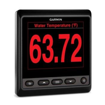 """Мултифункционален инструмент Garmin GMI 20, следи и показва 100+ параметри и данни за лодката, 4.0"""" (10.16 cm) QVGA дисплей, IPX7 водоустойчивост image"""
