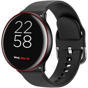 """Смарт часовник Canyon Marzipan SW-75 (CNS-SW75BR), 1.22"""" IPS дисплей, 150 mAh батерия, 6H твърдост на стъклото, Bluetooth v5.0, Wi-Fi, IP68, черен image"""