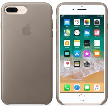 Leather case for iPhone 8 Plus MQHJ2ZM/A taupe product