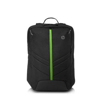 """Раница за лаптоп HP PAV Gaming 17 Backpack 500, до 17.3"""" (43.94 cm), водоустойчива, черна image"""