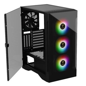 Кутия Gamdias TALOS E2 Elite - aRGB, ATX/mATX/Mini-ITX, 1x USB 3.0, черна без захранване image