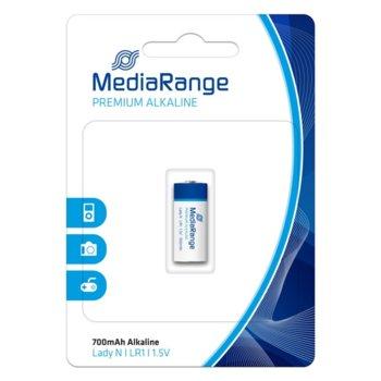 Батерия алкална MediaRange Premium Lady N MRBAT116 LR1, 1.5V, 700mAh, 1бр. image