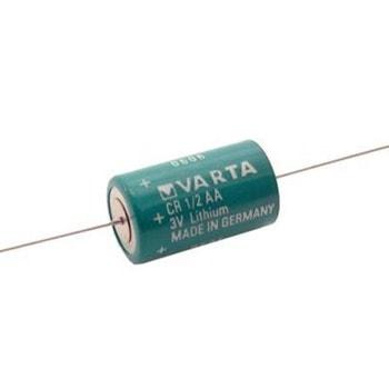 Акумулаторна батерия, литиева, Varta CR1/2AA-CD, 1/2AA, 3V, 1200 mAh, 1бр., с накрайници image