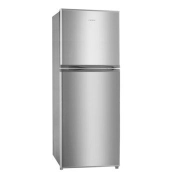 Хладилник с камера Crown DF-140S, клас A+, 130 л. общ обем, свободностоящ, 176 kWh/годишно, инокс image