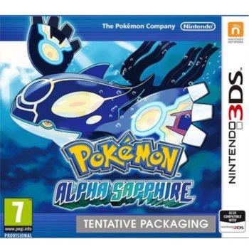 Pokemon Alpha Sapphire, за 3DS product