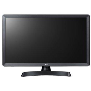 """Монитор LG (24 TV LG 24TL510S-PZ), 23.6"""" (69.94cm) IPS панел, HD, 14ms, 5M:1, 200 cd/m2, HDMI, RCA image"""