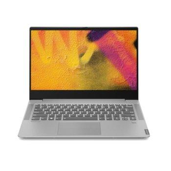 "Лаптоп Lenovo Ideapad S540-14IML (81NF00A9BM)(сив), четириядрен Comet Lake Intel Core i7-10510U 1.8/4.9 GHz, 14"" (35.56 cm) Full HD IPS Display & GF MX250 2GB, (HDMI), 8GB DDR4, 1TB SSD, 1x USB 3.1 Type-C, No OS image"