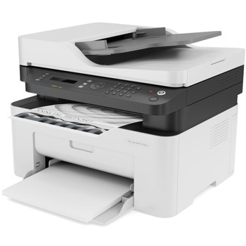 Мултифункционално лазерно устройство HP Laser MFP 137fnw, монохромен принтер/копир/скенер/факс, 1200 x 1200 dpi, 20 стр./мин, Wi-Fi, LAN, USB, A4 image