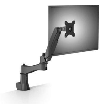 """Стойка за монитор BenQ AS10 (5A.LH644.HSE), за маса, за екрани до 28"""", VESA до 100x100, до 8кг., регулируема, черна image"""