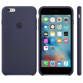 6s Plus Silicone Case - Midnight Blue product