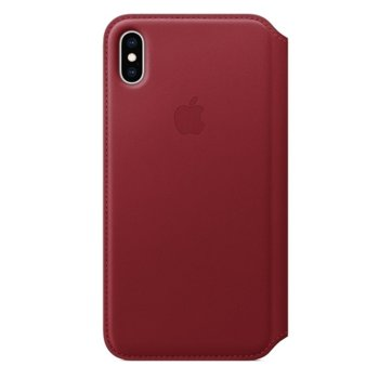 Apple iPhone XS Max Leather Folio - Red product