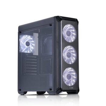 Кутия Zalman ZM-I3, ATX/mATX/Mini-ITX, USB 3.0, прозорец, черна, без захранване image