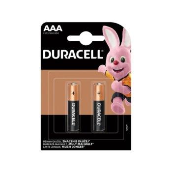 Батерия алкална Duracell, AAA, LR03, 1.5V, 2 бр. image
