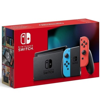 Портативна конзола Nintendo Switch, 32GB, червен/син image