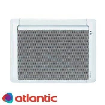 """Конвектор Atlantic Tatou Digital IO, 2000W, стенен, до 26 м2 отопляема площ, IP24, LCD дисплей, функция """"Отворен прозорец"""", бял image"""