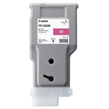 Глава за Canon iPF6400, iPF6450 - PFI-206 - Magenta - P№ 5305B001 - 300ml image