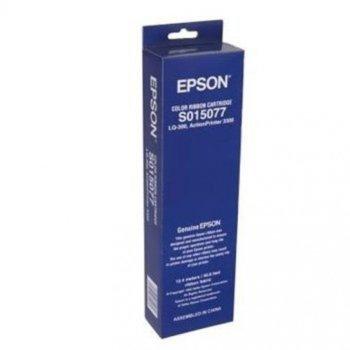 Лента за матричен принтер Epson LQ-300/300+ - Colour - P№: C13S015077 image