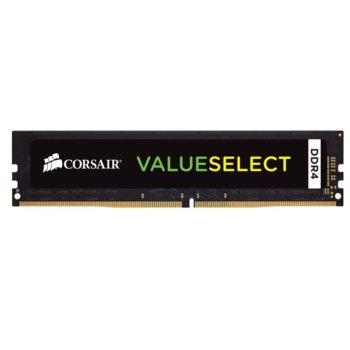 Памет 16GB DDR4 2666MHz, Corsair VALUE SELECT, CMV16GX4M1A2666C18, 1.2V image