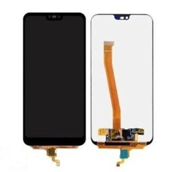 Дисплей за Huawei Honor 10 COL-L29, LCD, с тъч, черен image