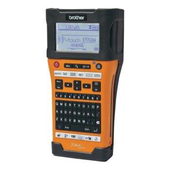 Ръчен индустриален етикетен принтер Brother PT-E550W, 2 г. image