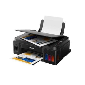 Мултифункционално мастиленоструйно устройство Canon PIXMA G2411, цветен принтер/копир/скенер, 4800 x 1200 dpi, ~19 стр/мин, USB Type B, A4 image