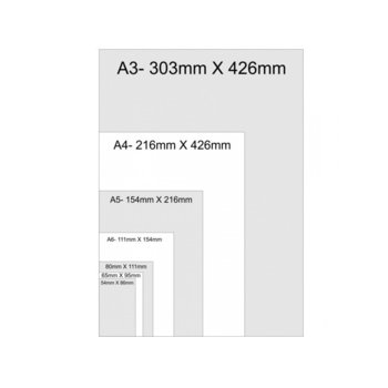 Фолио за ламиниране, размер A3, 303x426 mm, 80 mic, 100бр. image