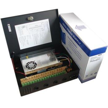 Захранващ блок 12V/25A, защита от к.с. и претоварване image