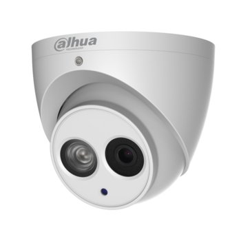 IP камера Dahua IPC-HDW4431EM-ASE-0280B, 4 МPixel (4M(2688×1520)/30FPS), обектив 2.8mm/F1.6, Video compression H.265+/H.265/H.264+/H.264, IR осветеност (до 50m), степен на защита IP67, вграден микрофон, RJ-45 image