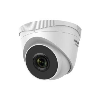 IP камера HikVision HWI-T200, куполна камера, 1Mpix(1280x720@25fps), 2.8/4 mm обектив, IR осветеност (до 30 м), H.264, PoE, RJ-45 image