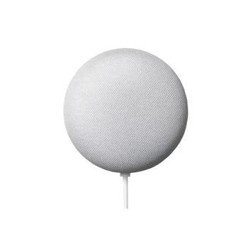 Безжична колонка Google Nest Mini Smart Home 2nd generation, Android, микрофон, за Google Home система, контрол чрез гласови команди, Wi-Fi/Bluetooth, бяла image