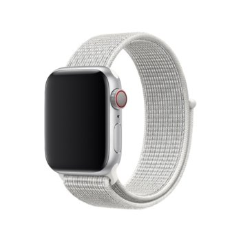 Каишка за смарт часовник Apple Watch (40mm) Nike Band: Summit White Nike Sport Loop, бяла image