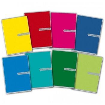 Тетрадка Eco UV color club, формат A5, офсетова, 40 листа image