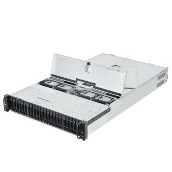 """Barebone Сървър Quanta T21SR-2U, поддържа Intel Xeon processor E5-2600 v3/v4 Family, 16x DIMM DDR4 слота, Без твърд диск(12x 3.5"""" hot-plug), 5x PCIe Gen3, 2U Rackmount, 2x 1600W захранване image"""