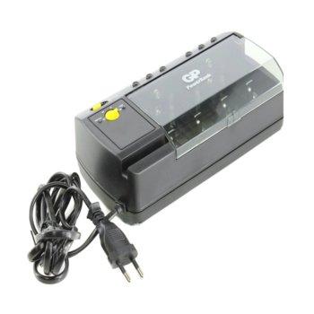 Зарядно устройство GP PB320GS-2UE1, 4x слота, за батерии АА, ААА, C, D и 9V image