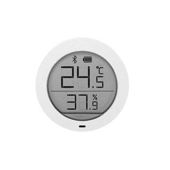 Цифров термометър/хигрометър Xiaomi Mi, Bluetooth, температура, влажност, AAA батерии, бял image