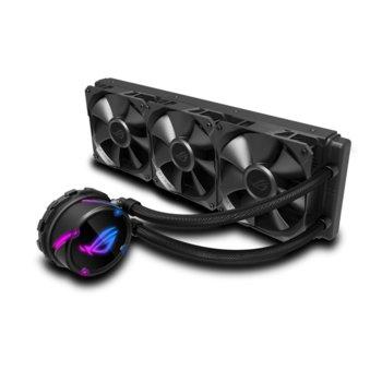 Водно охлаждане за процесор Asus ROG STRIX LC 360, съвместимост със сокети LGA Intel 115x/1366/2011/ 2011-3/2066 & AMD AM4/TR4 image