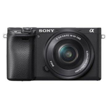 """Фотоапарат Sony A6400(черен)(мостра) в комплект с обектив Sony E 18-135mm f/3.5-5.6 OSS и Sigma 56mm f/1.4 DC DN   C - Sony E, 24 Мpix, 3"""" (7.5 cm) TFT дисплей, Wi-Fi, Bluetooth, microUSB, microHDMI image"""