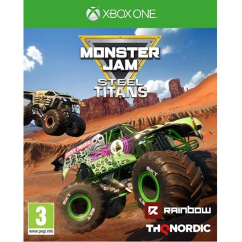 Monster Jam Steel Titans Xbox One product