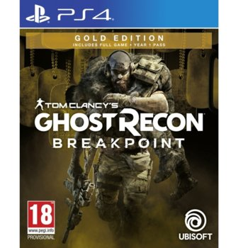 Игра за конзола Tom Clancy's Ghost Recon Breakpoint Gold Edition, за PS4 image