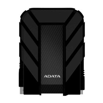 """Твърд диск 1TB A-Data HD710P(черен), външен, 2.5"""" (6.35 см), USB 3.1 image"""
