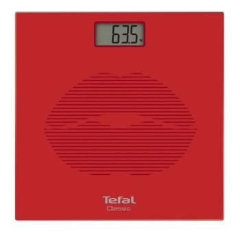 Електронен кантар Tefal PP1149VO Classic Mosaic Red, капацитет 160 кг, автоматично включване, червен image