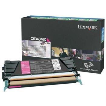 КАСЕТА ЗА LEXMARK C534 - Magenta - P№ C5340MX - за product