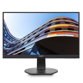 """Монитор Philips 271S7QJMB, 27"""" (68.58 cm) IPS панел, Full HD, 5ms, 20 000 000:1, 250cd/m2, DisplayPort, HDMI, VGA image"""