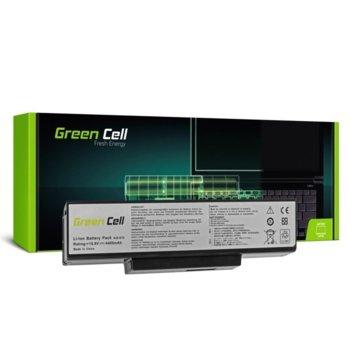 Батерия (заместител) за лаптоп Asus, N71/K72/K72J/K72F/K73SV/N71/N73/N73S/N73SV/X73S, 6-cell, 10.8V, 4400mAh image