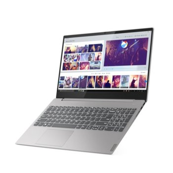 "Лаптоп Lenovo Ideapad S340-15API (81NC00GRBM)(сив), двуядрен Zen 2 AMD Ryzen 3 3200U 2.6/3.5 GHz, 15.6"" (39.624 cm) Full HD TN Anti-Glare Display, (HDMI), 8GB DDR4, 256GB SSD, 1x USB 3.1 Type C, No OS image"