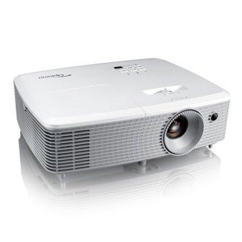 Проектор Optoma EH400, DLP, Full HD (1920x1080), 20 000:1, 4000 lm, HDMI, VGA, USB image