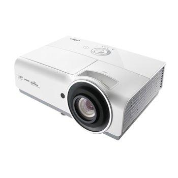 Проектор Vivitek DW832, DLP, 3D Ready, WXGA (1280x800), 15000:1, 5000 lm, 2x HDMI, 2x VGA, RJ-45, USB, бял image
